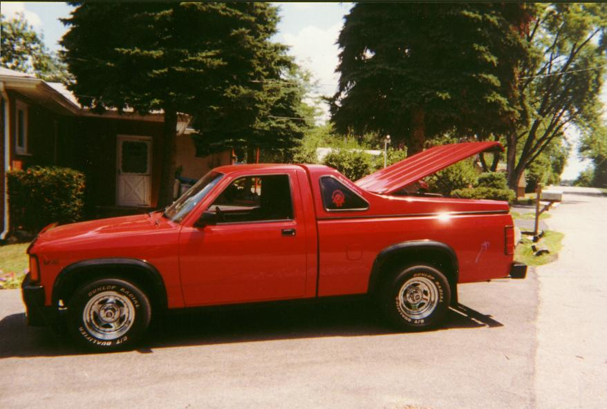 Dorn on 1996 Green Dakota Sport