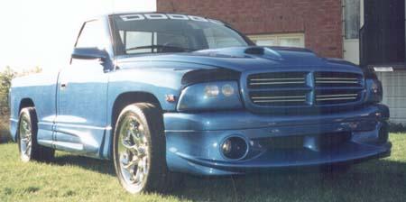 Estoppey on Dodge Dakota Cowl Hood